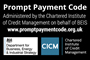 prompt payment code